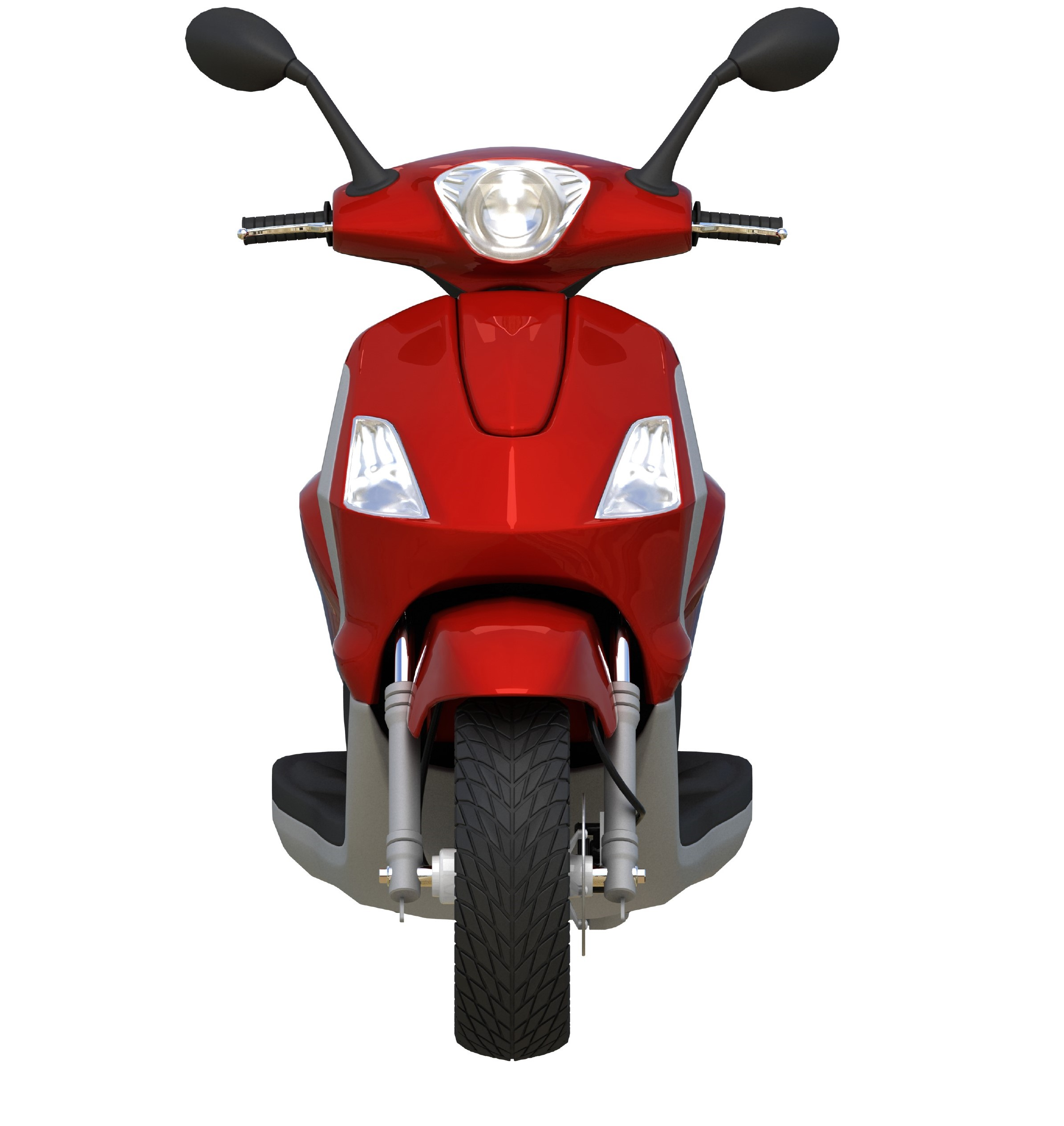 front_view_red_scooty